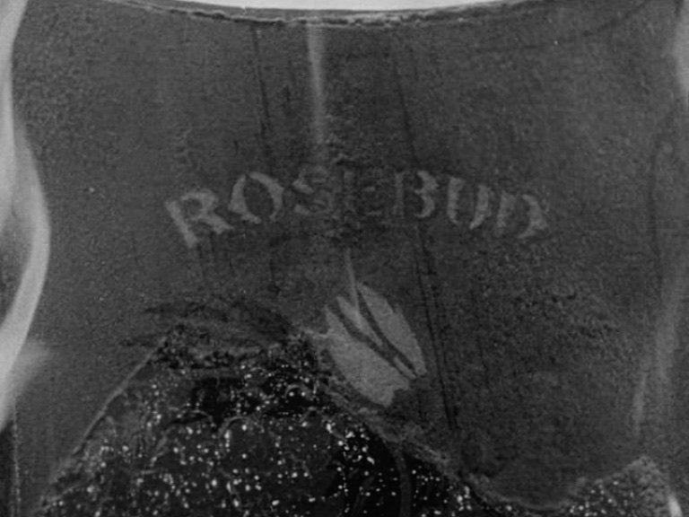 charles foster kane rosebud