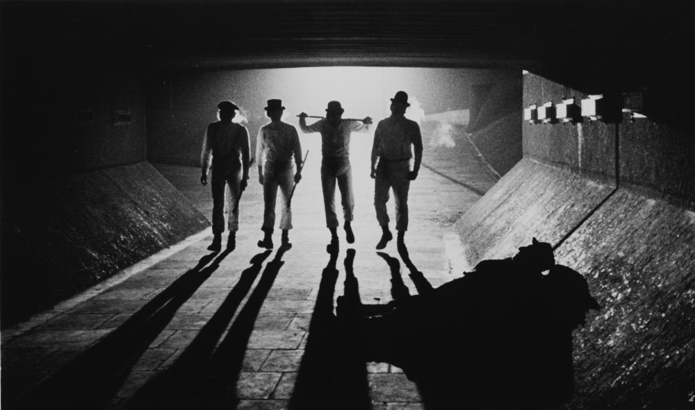 A vision of a no-future future that looked suggestively like the no-future present: A Clockwork Orange (1971)