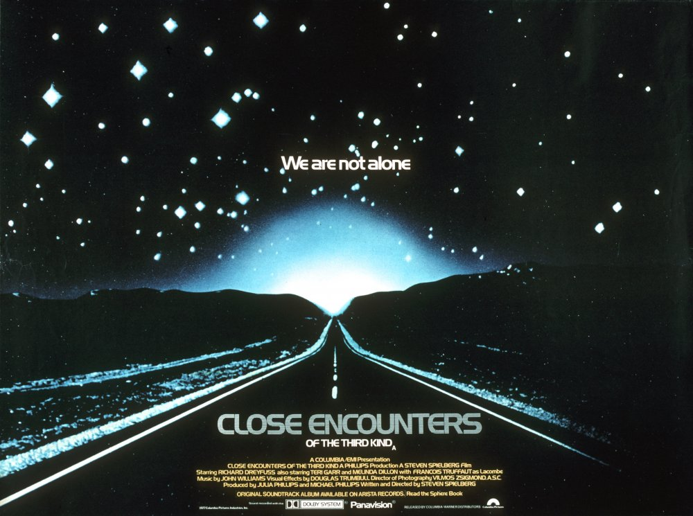 Close Encounters of the Third Kind (1977) poster