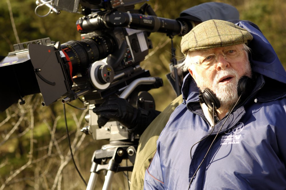 Richard Attenborough on location for Closing the Ring (2007)