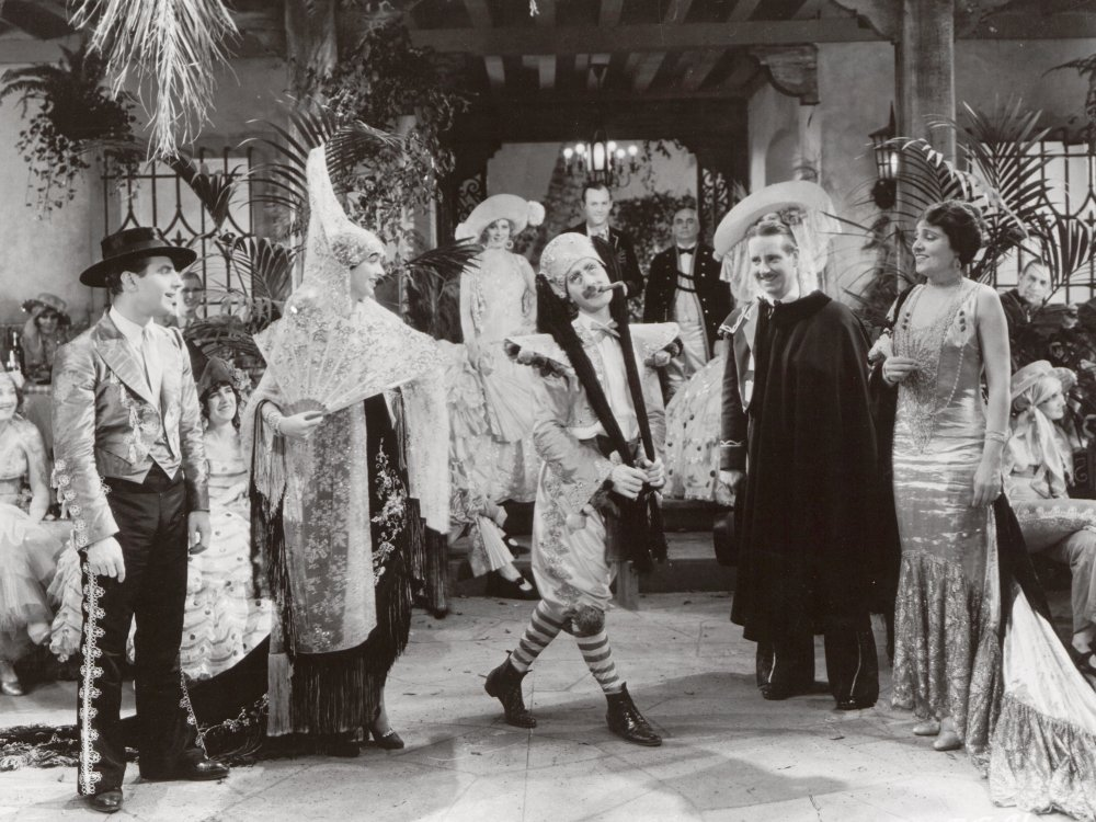 The Cocoanuts (1929), a transfer of the Marx Brothers' 1925 Broadway hit featuring songs by Irving Berlin