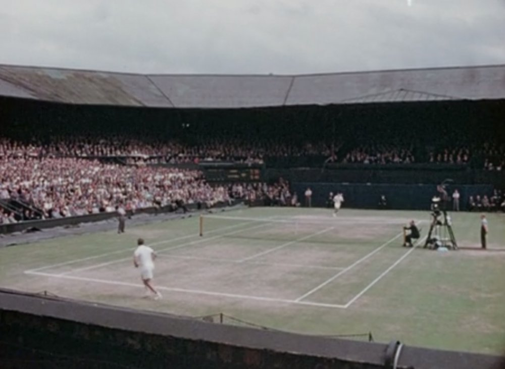 Colourful Wimbledon (1954)