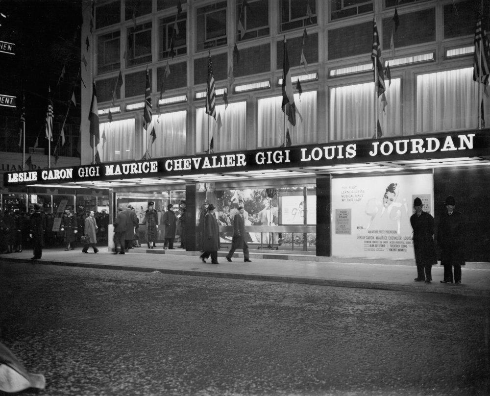 Columbia Cinema (now Curzon Soho), London, 1958