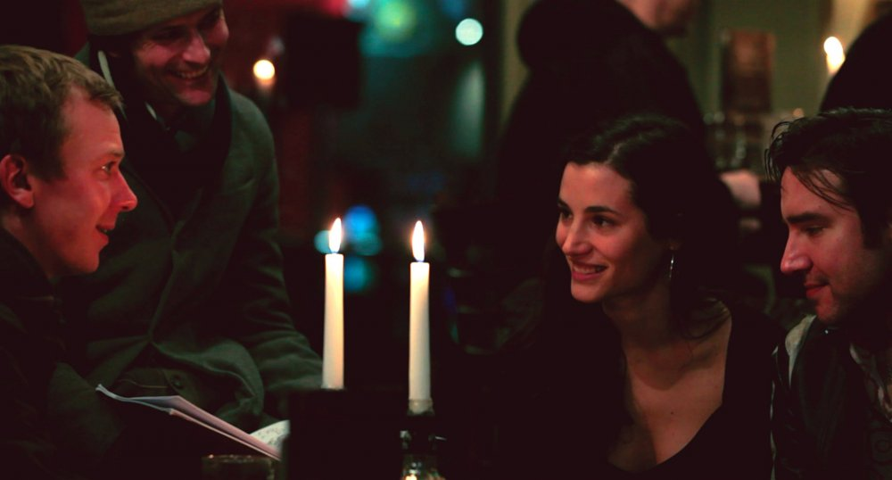 The London everybody knows: Elisa (Elisa Lasowski, centre) on a night out with friends