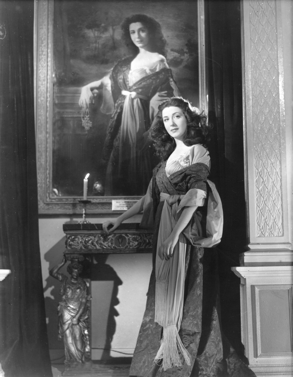 Edana Romney as society girl Mifanwy Conway – and a Borgia muse