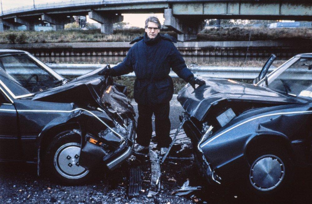 Crash (1996): David Cronenberg on location