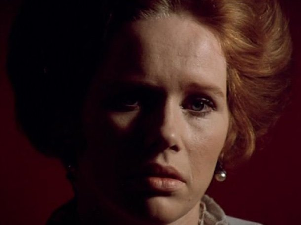 Liv Ullmann in Cries and Whispers