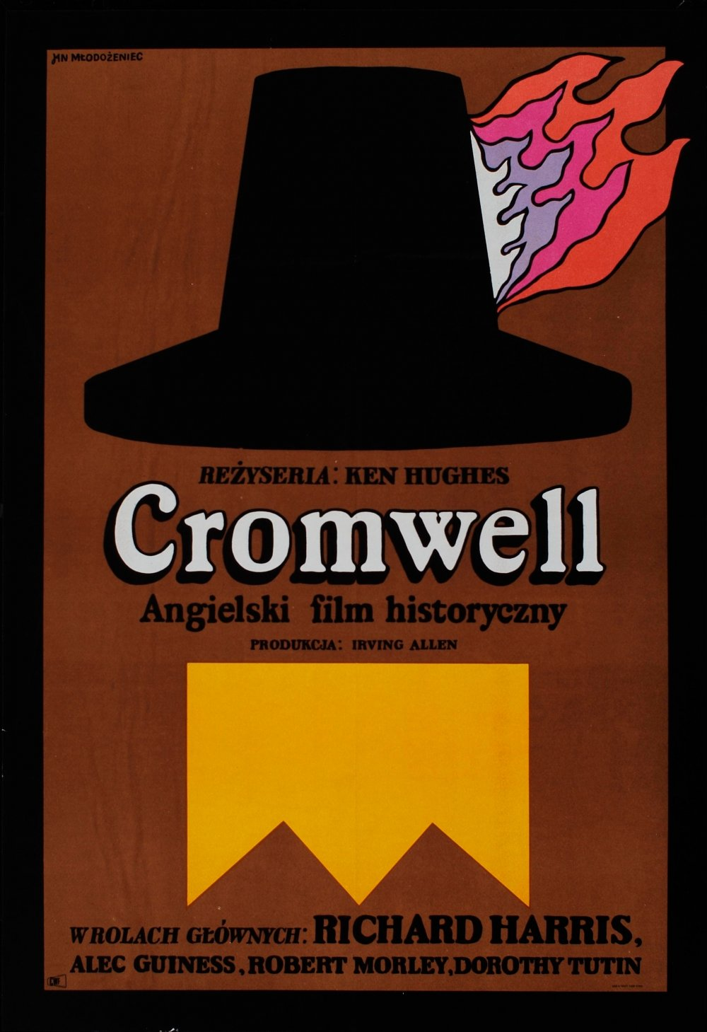 Poster for Cromwell (1970) by Jan Młodożeniec