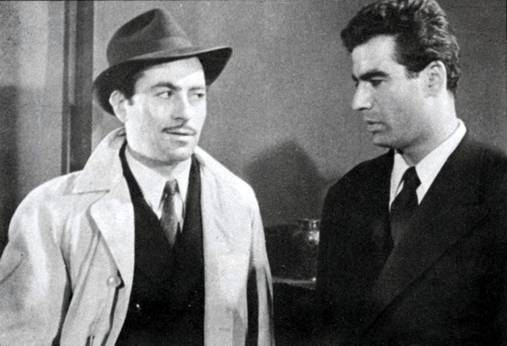 Crossroads of Events (1955): Arman (left) and Nasser Malek-Motii