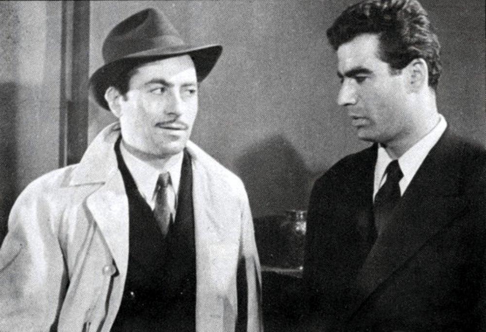Crossroads of Events (1955): Arman (left) and Nasser Malek-Motii