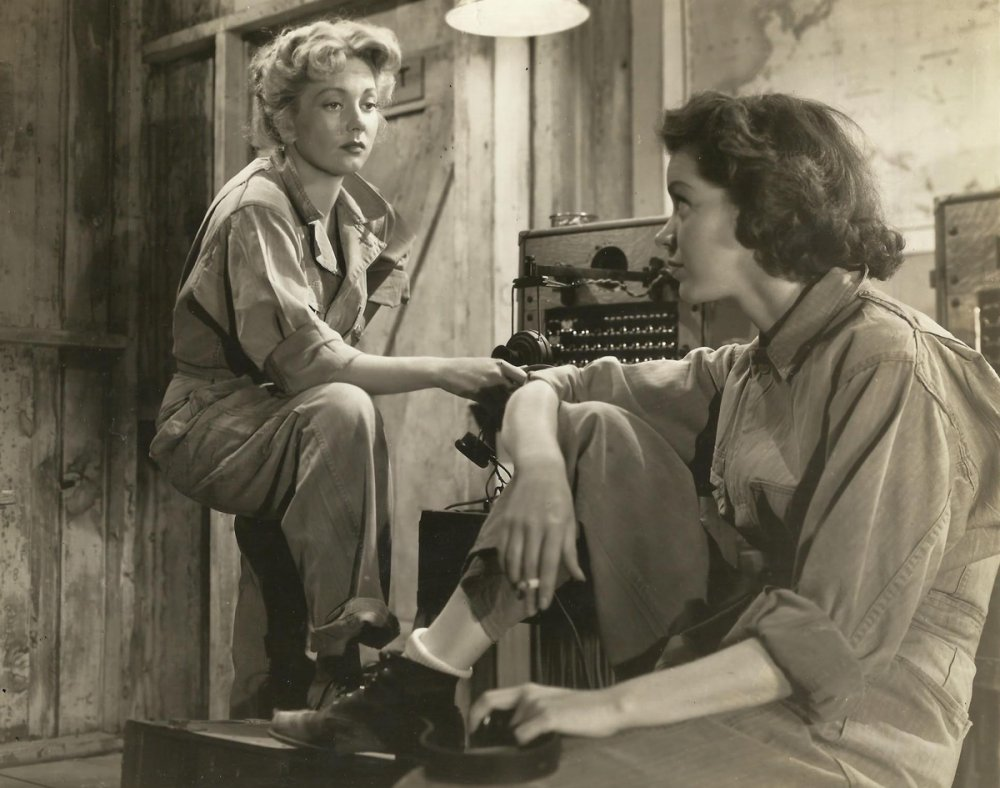 Marsha Hunt with Ann Sothern in Cry 'Havoc' (1943)