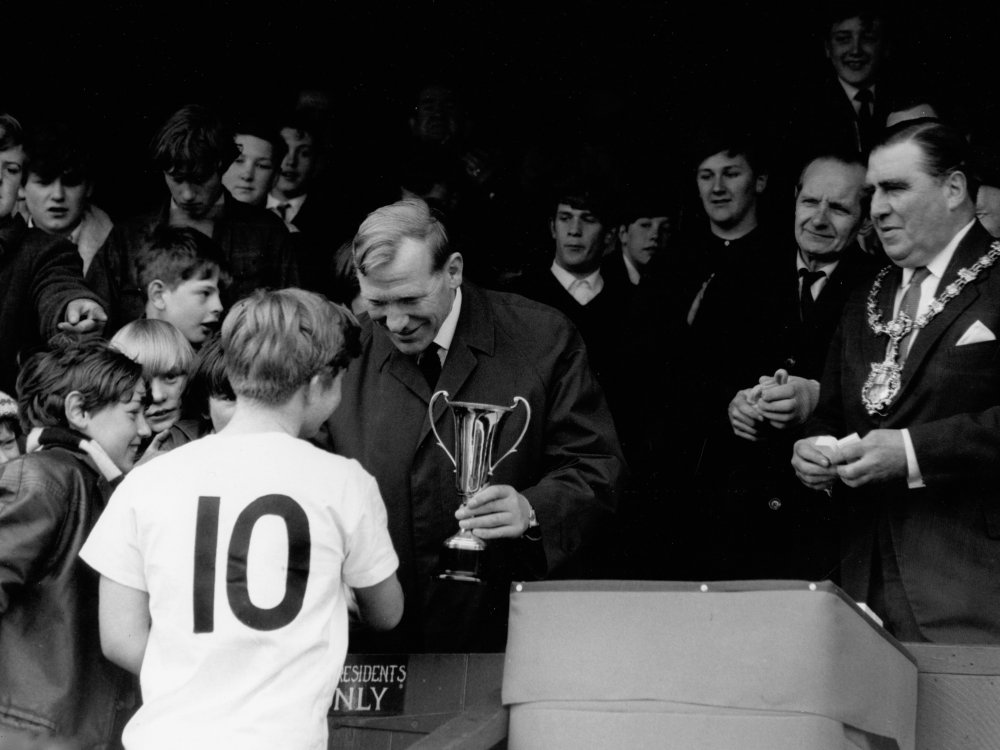 Cup Fever (1965), featuring Matt Busby's Manchester United team