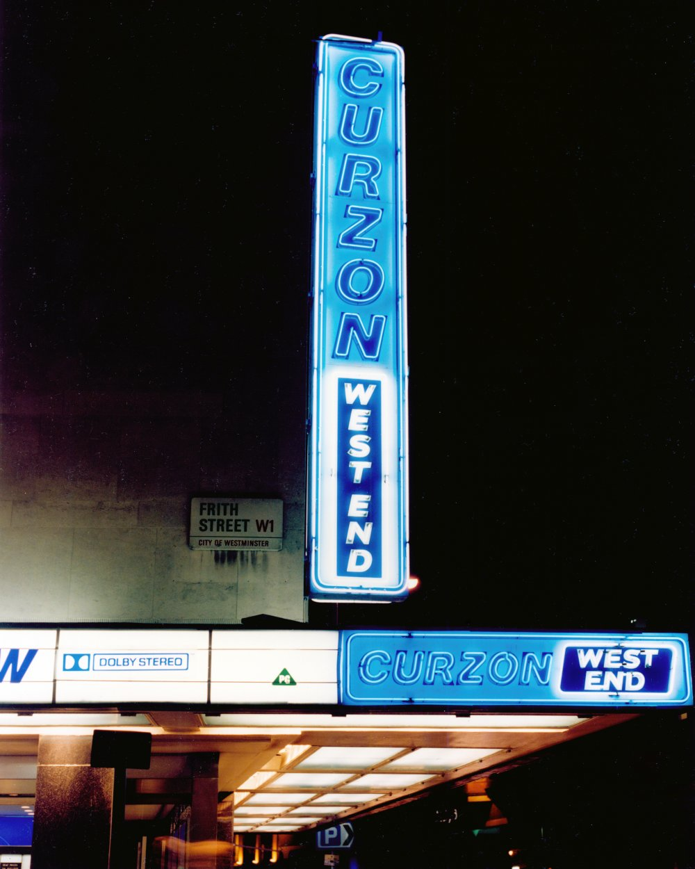 Curzon West End (now Curzon Soho), London, 1985