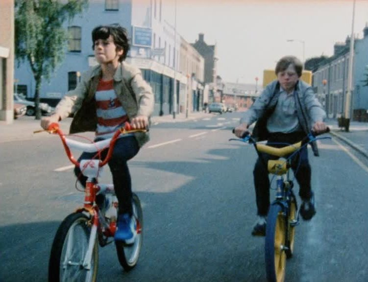Cyclists Turning Right (1983)