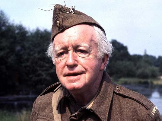 Arnold Ridley in Dad's Army (1968-77)