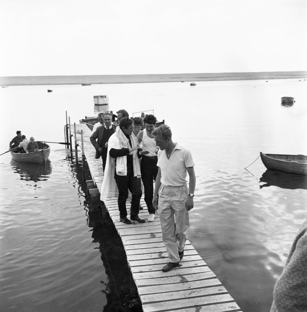 The Damned (1963) production shot