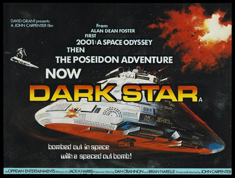 Dark Star (1974) poster