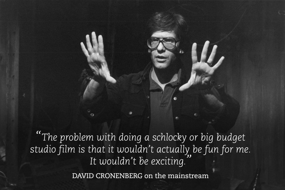David Cronenberg stereo
