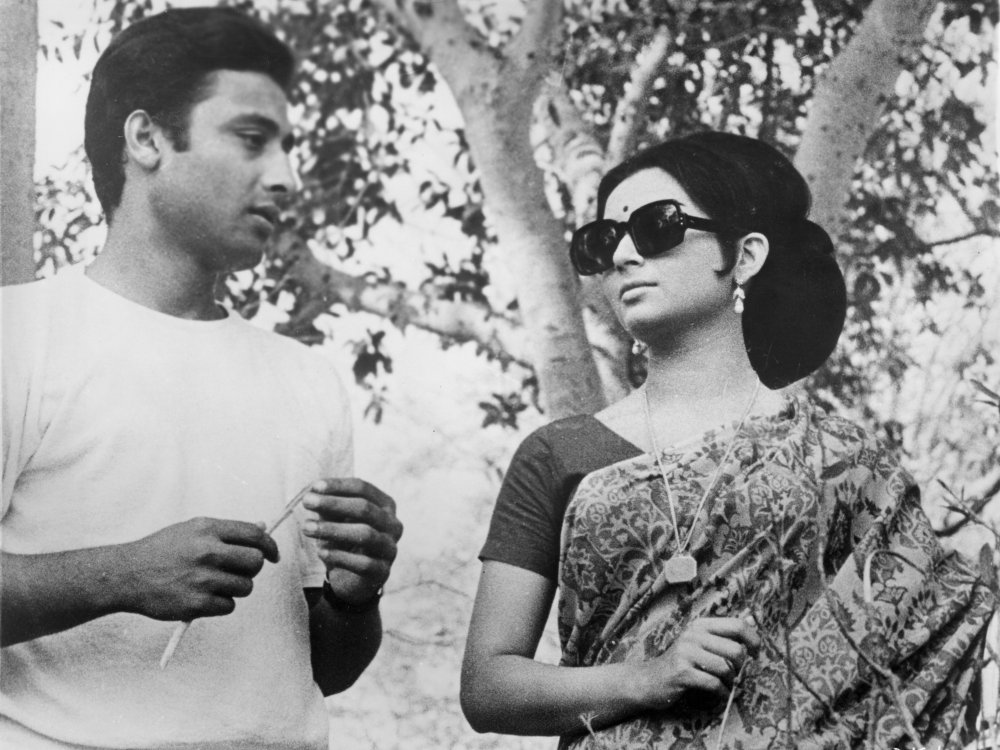 Aparna (Sharmila Tagore) in Days and Nights in the Forest (1970)