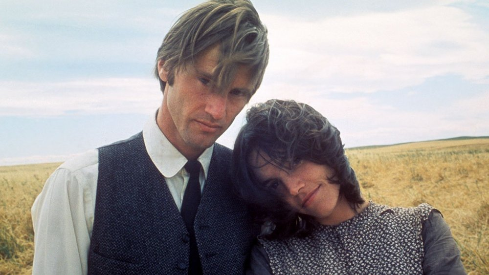 With Brooke Adams in Days of Heaven (1978)
