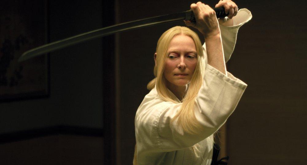 Tilda Swinton as Zelda Winston in The Dead Don't Die