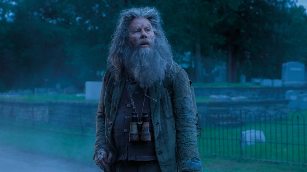 Tom Waits as Hermit Bob in Jim Jarmusch's zombie-horror Cannes opener The Dead Don't Die