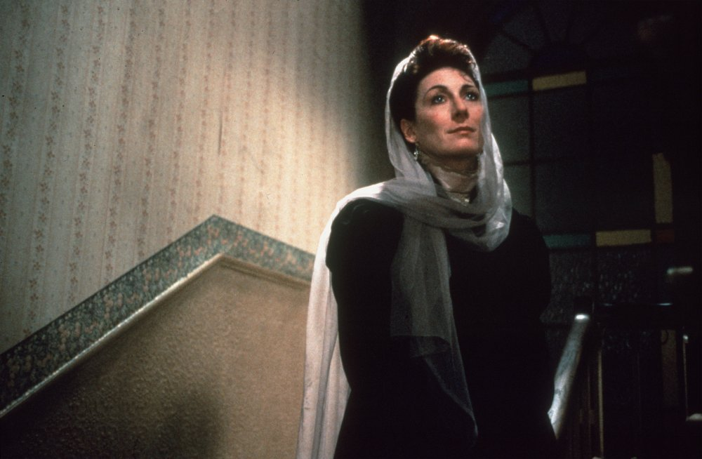 Anjelica Huston in her father's last film, The Dead (1987), based on the James Joyce short story