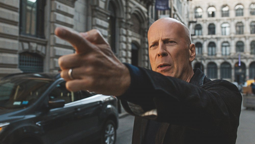Bruce Willis as Paul Kersey in Eli Roth's Death Wish remake