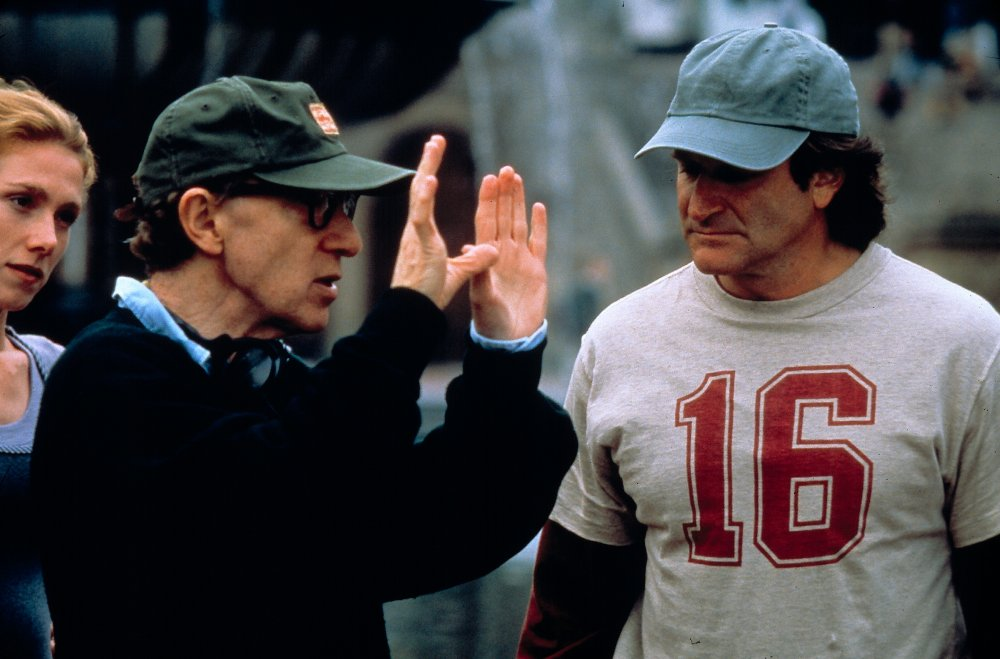 Woody Allen directs Williams in Deconstructing Harry (1997)