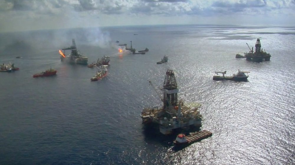 Location reportage from the Deepwater Horizon oil spill (2010)