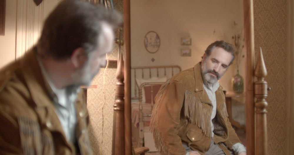 Jean Dujardin as Georges in Deerskin