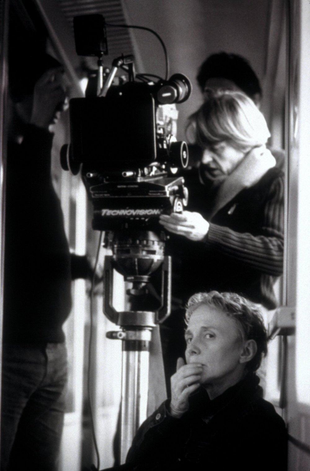 Claire Denis and cinematographer Agnès Godard