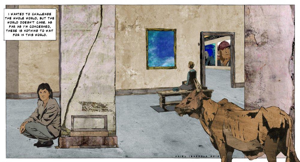 <strong>Chantal Akerman</strong>. Citations: Vertigo (Alfred Hitchcock, 1958); La Captive (Chantal Akerman, 1999); Suicide room (Naiel Ibrrola and Ehsan Khoshbakht, 2015); Chantal Akerman par Chantal Akerman (Akerman, 1997); Quotation by Chantal Akerman (1997)