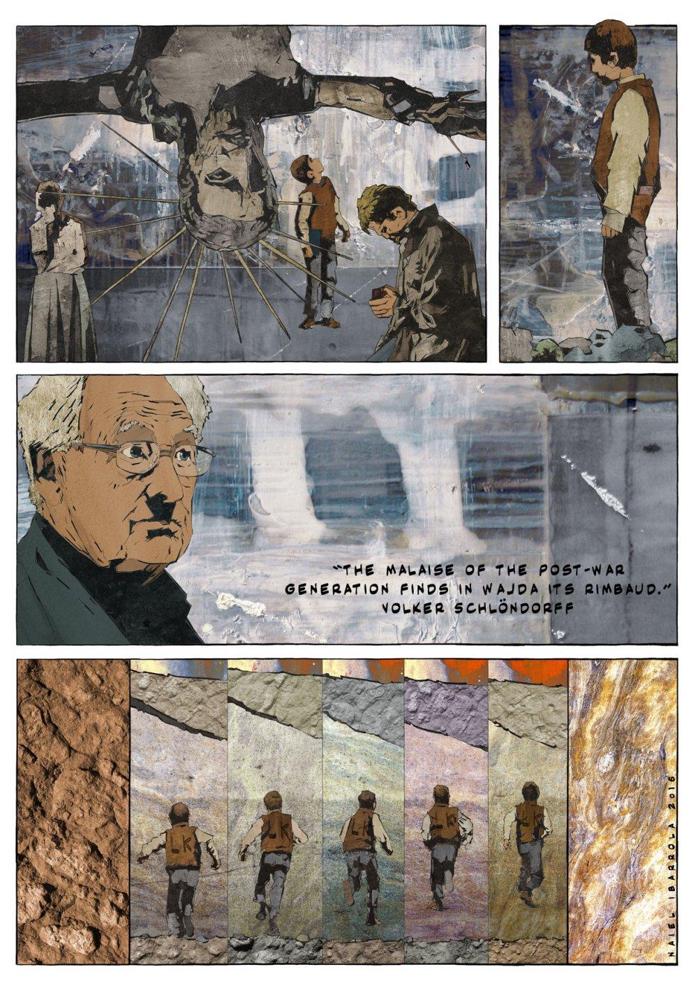 Polish film titan Andrzej Wajda