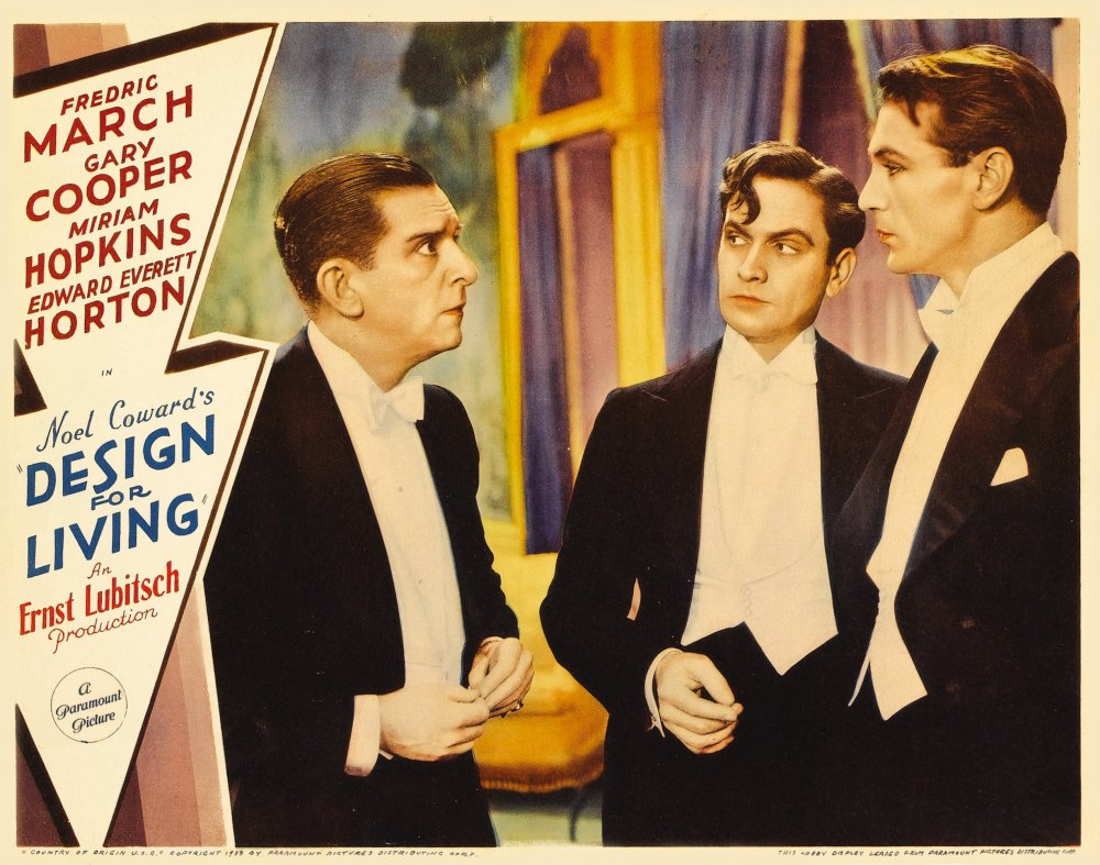 Design for Living (1933) poster