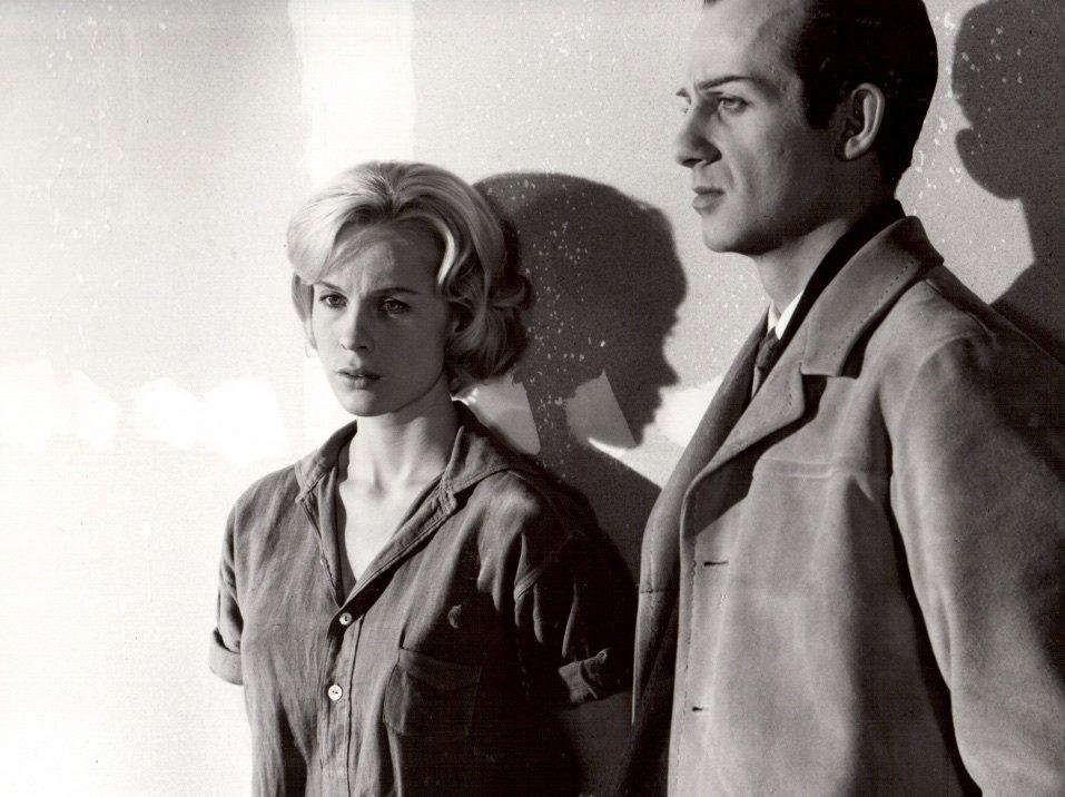 As Britt-Marie, with Jarl Kulle as Don Juan in The Devil's Eye (Djävulens Öga, 1960)