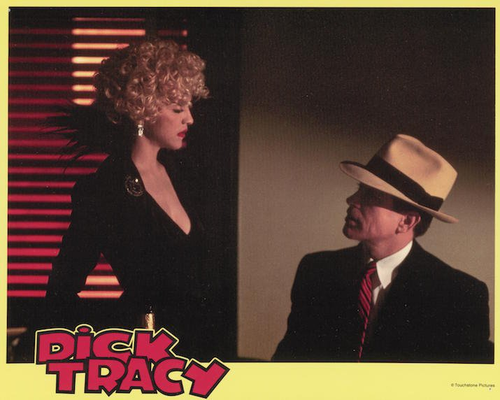 Madonna and Warren Beatty in Dick Tracy (1990)