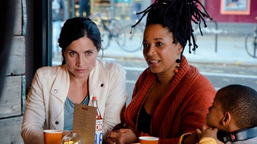 Rachel Shelley as Brooke and Nimmy Marsh as Jess