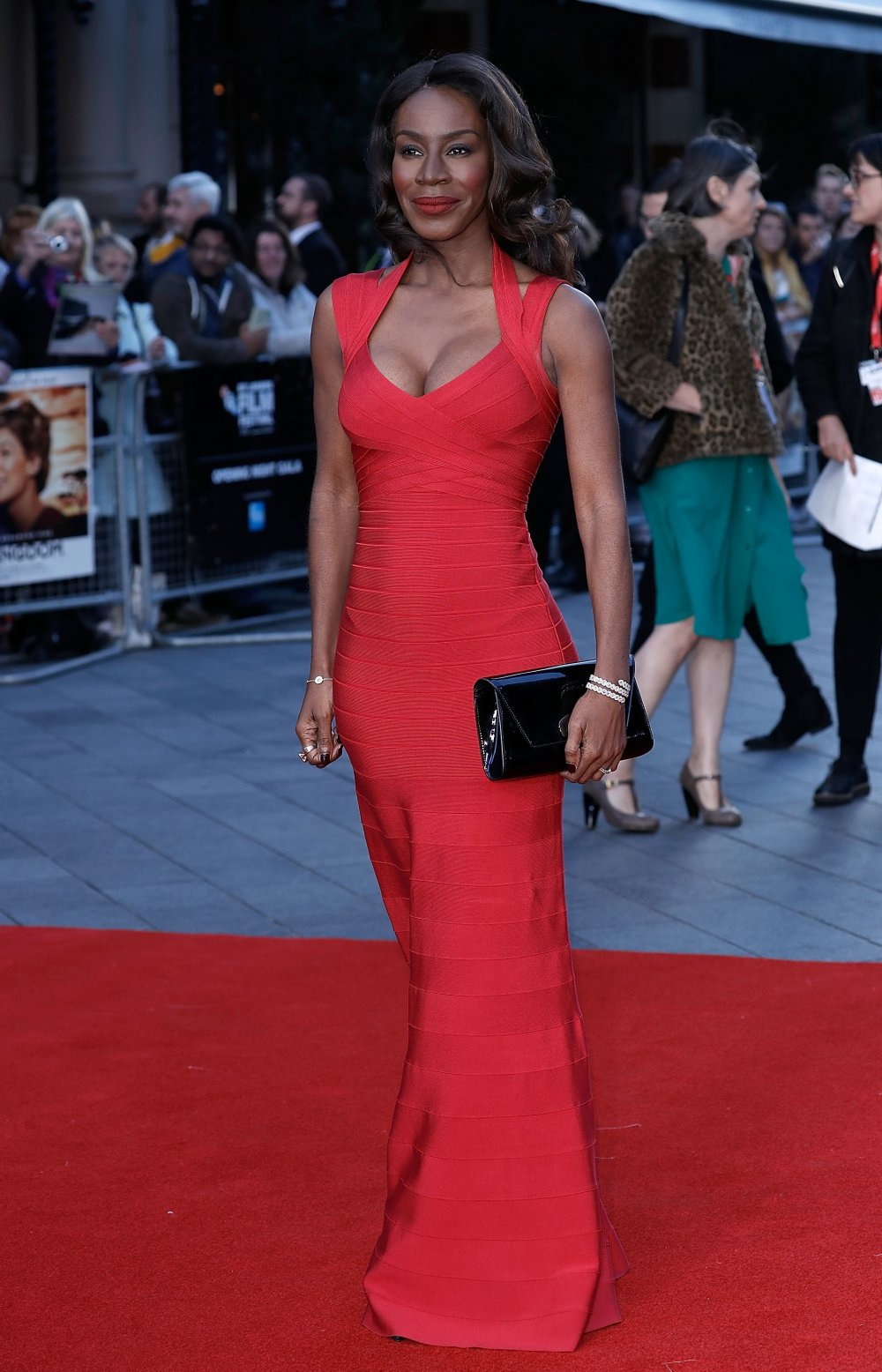 Director Amma Asante attends the Opening Night Gala screening of A United Kingdom at Odeon Leicester Square
