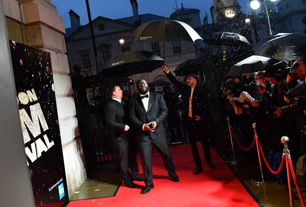 Director Steve McQueen attends the BFI London Film Festival awards at Banqueting House