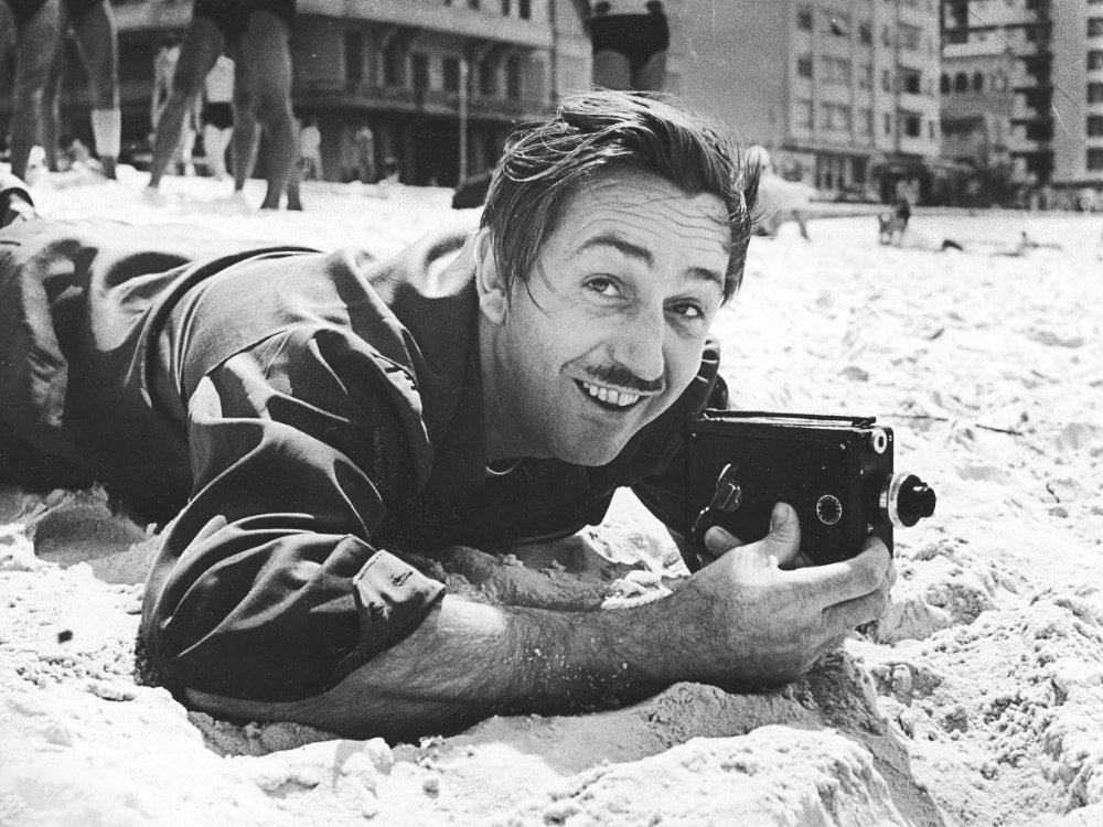 Walt Disney in Rio de Janeiro in 1941