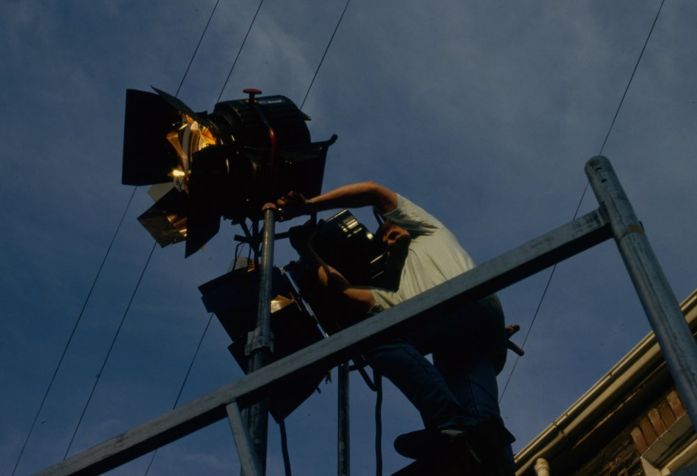 Distant Voices Still Lives (1988) production shot