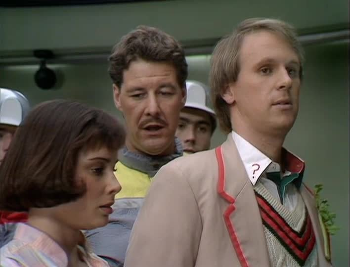 The fifth Doctor and The Caves of Androzani | BFI