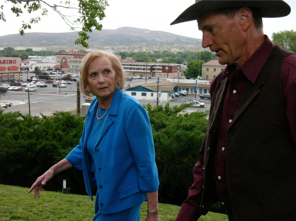 With Eva Marie Saint in Don't Come Knocking (2006)