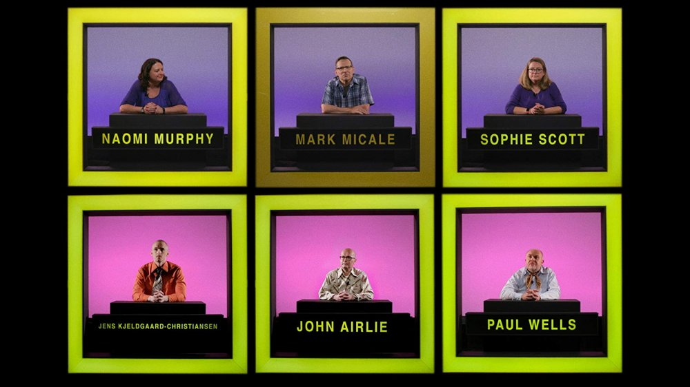 Doozy's Hollywood Squares-style panel of interviewees