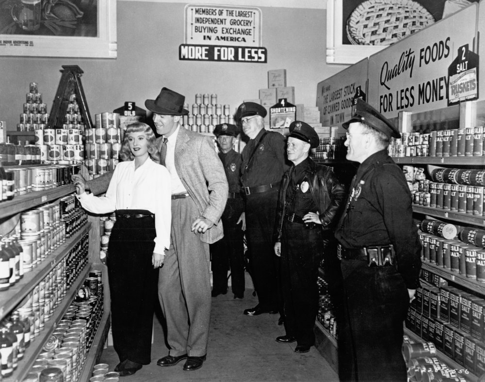 Filming Double Indemnity (1944)
