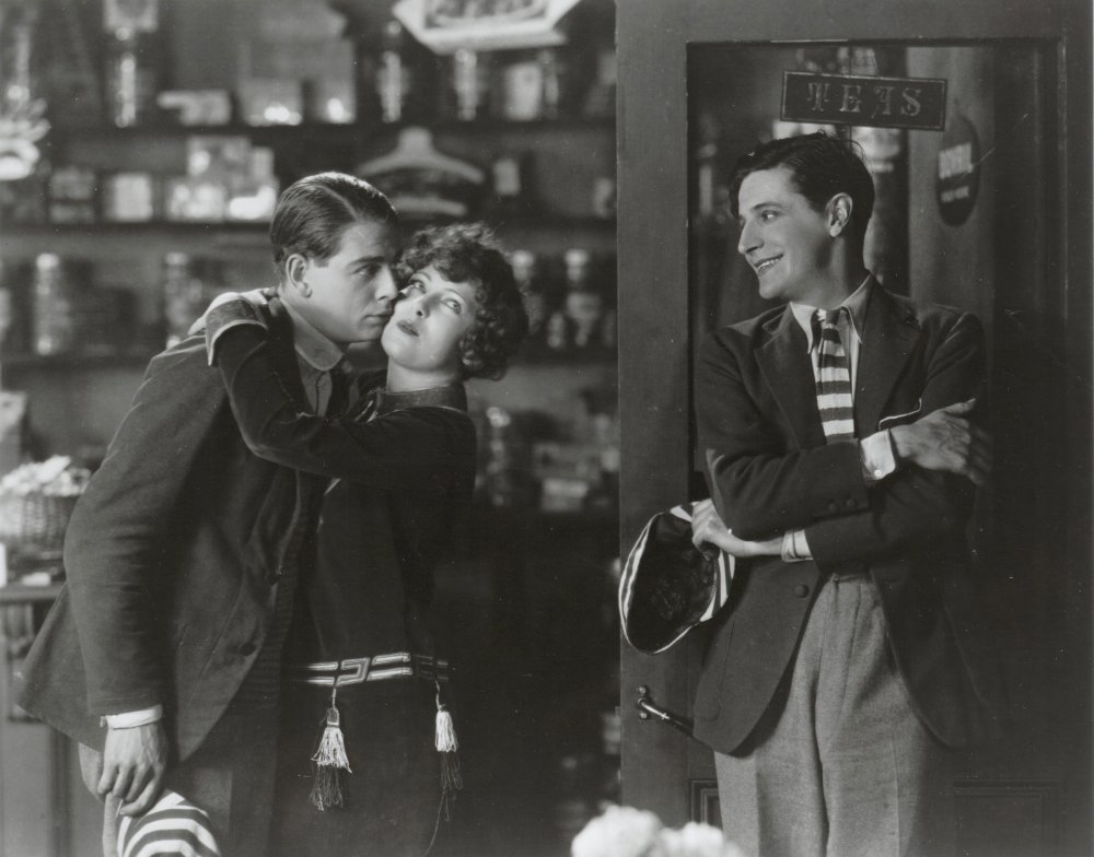 Ian Hunter, Isabel Jeans and Ivor Novello in Downhill (1927)