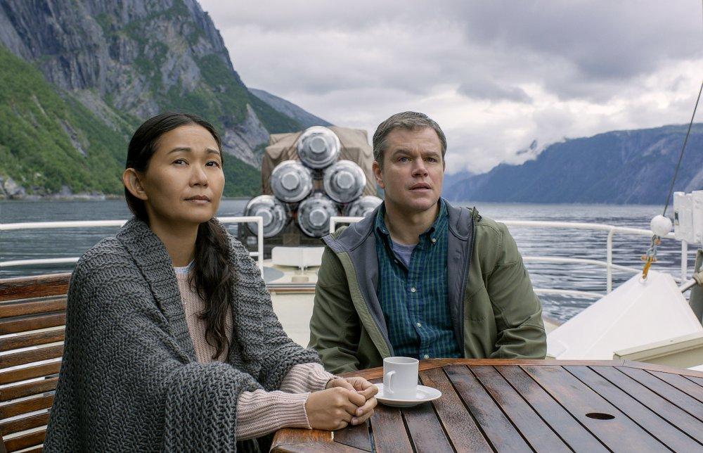 Damon with Ngoc Lan Tran as Hong Chau
