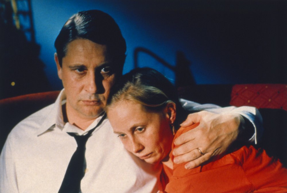 <strong>Drifting Clouds (1996)</strong>  More from Kaurismaki: Drifting Clouds begins with a tram driver and his waitress wife both separately losing their jobs, setting off a chain of unfortunate circumstances