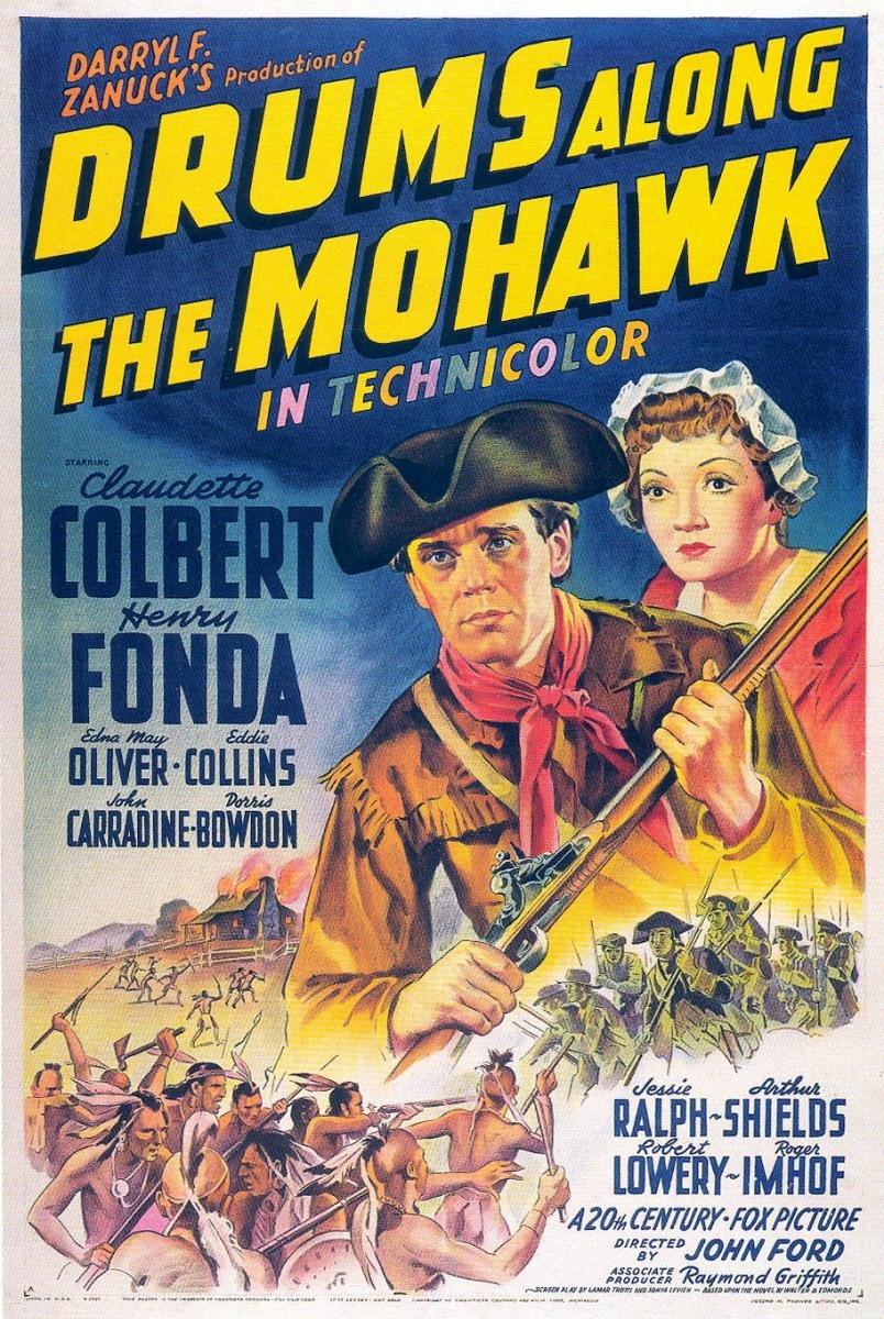 Drums along the Mohawk (1939) poster